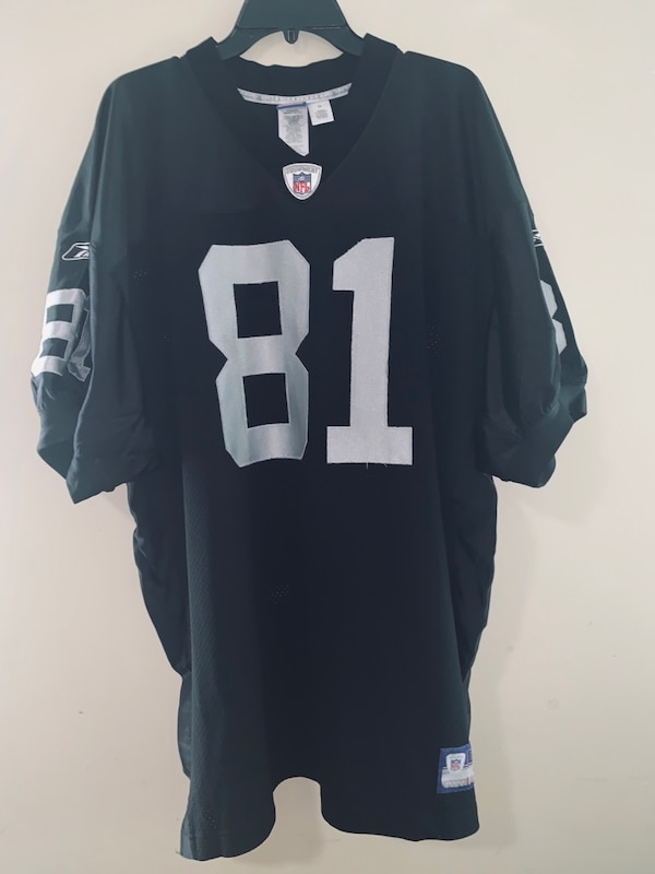 best service aafd5 ef718 Raiders Reebok Authentic Tim Brown 81 Jersey Size 54 XXXL Used Excellent  Condition
