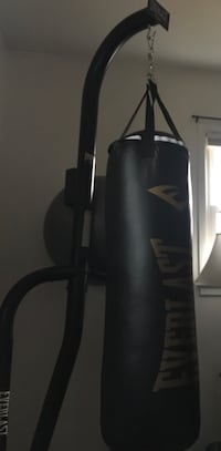 Full set Punching bag with reflex punching ball and gloves