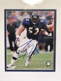 NFL Baltimore ravens Ray Lewis signature New Bedford, 02745
