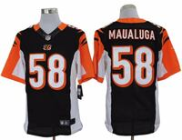 REEBOK NFL EQUIPMENT RUGBY CINCINNAT MAUALUGA JERSEY XL
