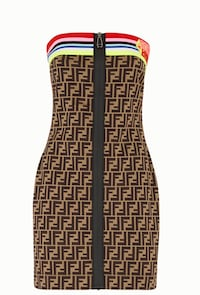 Fendi Roma Amor Jersey dress Washington