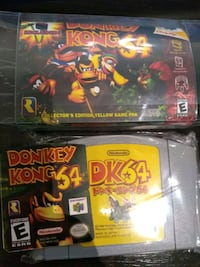 N64 bomber man and donkey Kong Toronto, M9C 0A5