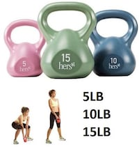 impex hers kettle weights, 5,10, & 15 lb London, N5V 4H7