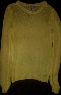 Forever 21 Yellow Knit Sweater  Irving, 75060