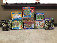 9 large puzzles Mooresville, 28117