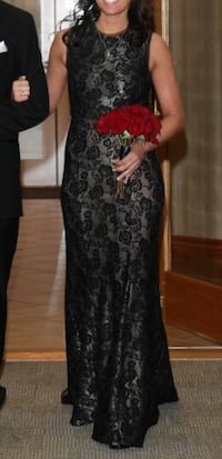Nordstrom's Black lace size 4 gown Bonner Springs, 66012