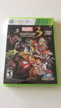 Xbox 360 marvel vs capcom 3 Bowmanville, L1C 2H5