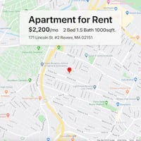 APT For rent 2BR 1.5BA