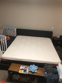 Dormeo 6800 king sized mattress (1 year old, lightly used) Chestermere, T1X