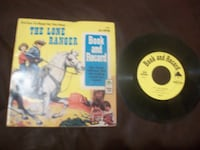 1977 LONE RANGER RECORD AND BOOK #1998 Providence