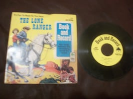 1977 LONE RANGER RECORD AND BOOK #1998