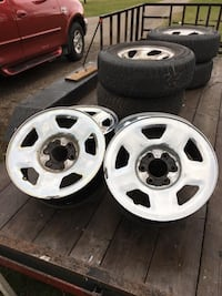 Rims for sale. $150.00.Phone Gary :  [PHONE NUMBER HIDDEN]