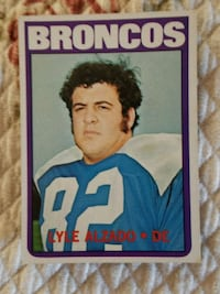 1972 Topps Lyle Alzado Rookie Card