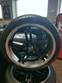 18 inch rims and tires 225/40/18  Tampa, 33637