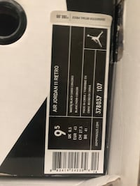 Jordan 11 concord size 9 1/2  Falls Church, 22041