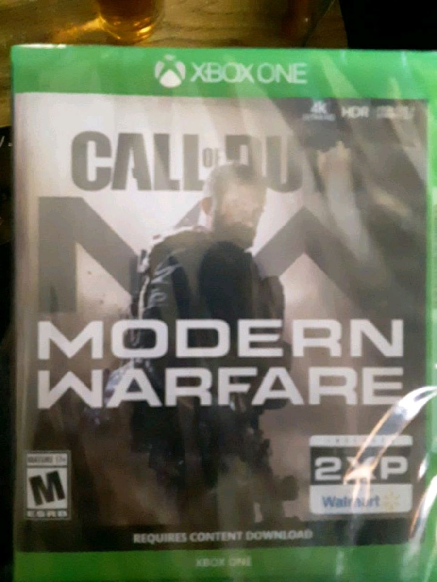 Photo Xbox one Call of Duty Modern Warfare