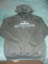 gray and white The North Face pullover hoodie Lakewood, 98439