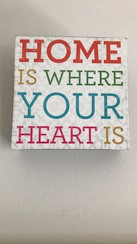 Home is where your heart is wall decor Ames, 50011