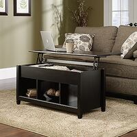 Edge Water Lift-Top Coffee Table, Estate Black, #414856 2263 mi