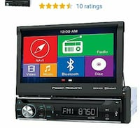 Touch screen car Stereo Power Acoustik PDN-726 B Washington, 20002