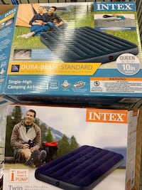 Intex camping airbed twin and queen  Vienna, 22182