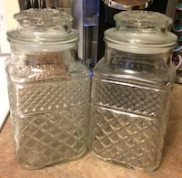 Glass Kitchen Canisters For Sale Burlington