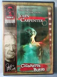 John Carpenters Cigarette Burns dvd with trading card