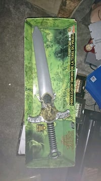 Electronic middle earth sword  Burnaby