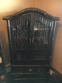 Bamboo Chest - 4 shelves 1 drwr YONKERS