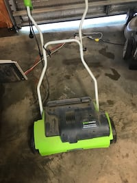 Greenworks electric lawn dethatchef Holly Springs, 27540