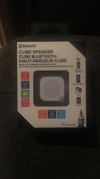 black and gray wireless speaker box Winnipeg, R3C 0Z5