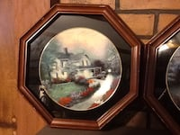 brown wooden framed painting of people Dover, 17315