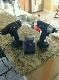 black and gray cordless power drill Lehigh Acres, 33971