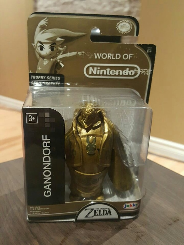 World Of Nintendo Zelda Gold Ganondorf Trophy