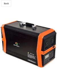 Power Station 1000W, 1010Wh Portable Solar Generator Lithium Battery