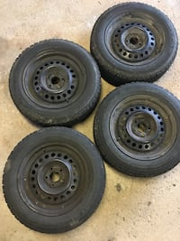 185/65/15 Goodyear Nordic tires on steel rims 5x100 Vaughan, L4L 5K1