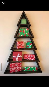 Rustic Christmas Tree Shelf Simpsonville, 29681