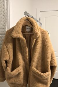 I AM GIA oversized teddy coat
