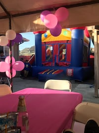 jumpers, tables, chairs, tents an more dor renta