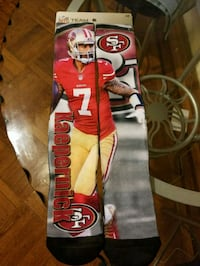 red and white San Francisco 49ers socks Baltimore, 21224