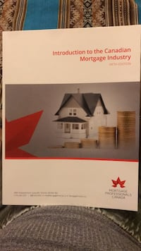 Introduction to the Canadian mortgage industry textbook Mississauga, L5M 7R7