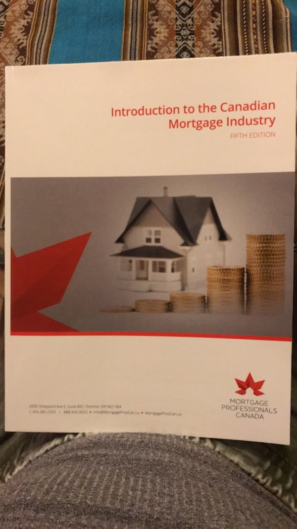 Introduction to the Canadian mortgage industry textbook