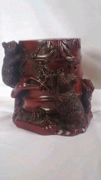 Carved Ironwood Cup Center, 58530