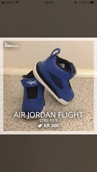 Air Jordan Flight size 19,5