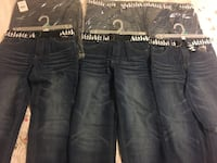 Boys jeans sizes 7 to 16, choose your sizes. 50$ for 6 jeans Delta, V4C 3P5