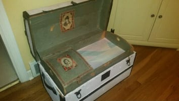 Very neat old antique chest