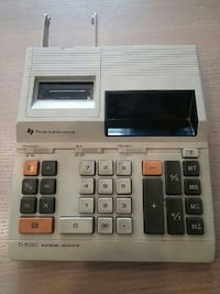 Texas Instruments Printing Electronic Calculator