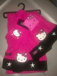 Hello Kitty scarf/hat/gloves BRAND NEW Pacifica, 94044
