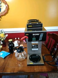 Bunn coffee maker 3 burners