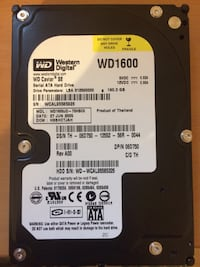 160gb Western Digital hdd hårddisk Стокгольм, 127 45